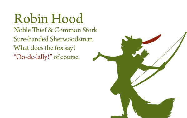 Robin Hood Cinquain