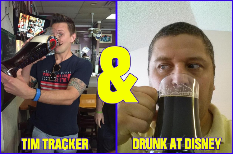 Tim Tracker vs Drunk At Disney